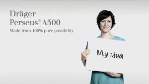 """Dräger """"Perseus 500″ Bühnenfilm"""
